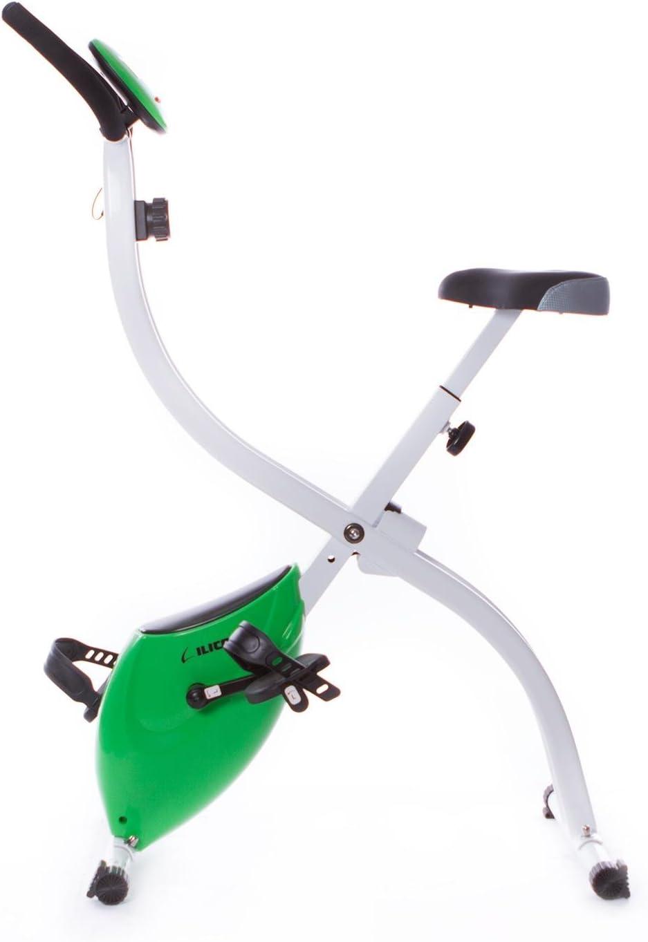 Bicicleta Plegable ILICO X-Bike (Talla: T.U.): Amazon.es: Deportes ...
