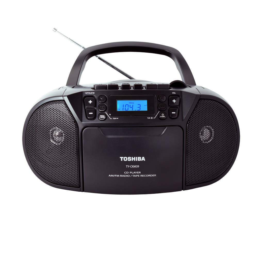 Toshiba TY-CRS9(G) Portable CD Boombox Am/FM Stereo Aux Input Metallic Green