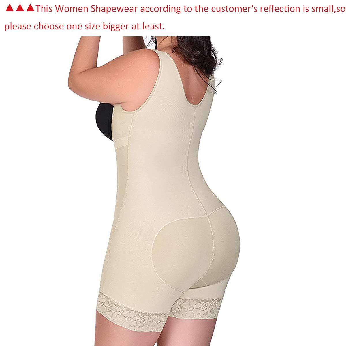 eade9134418 RIBIKA Women Body Shapewear Slimming Corset Tummy Control Waist Shaper  Bodysuit Shapers larger image