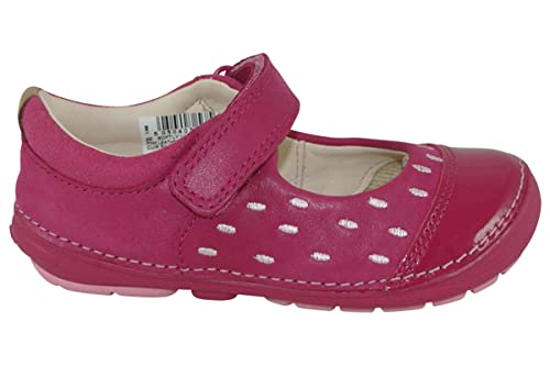 b7c91f6e2bec Clarks 2740-46F softly Lou FST Navy Kids First Shoes 4  Amazon.co.uk  Shoes    Bags