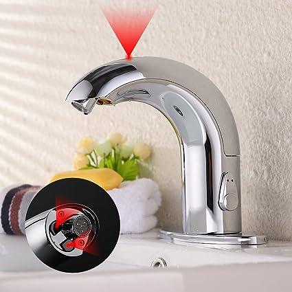 Homelody Smart Valvola Automatico Bagno Cromato Rubinetto Per