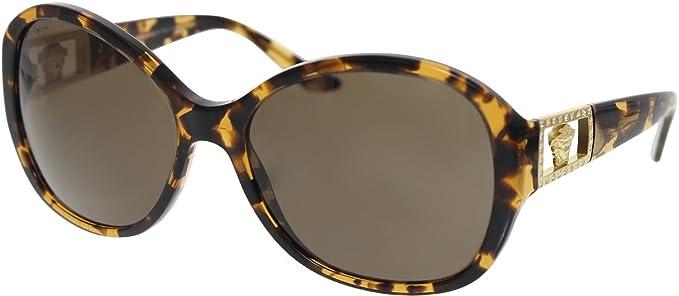 Amazon.com: Versace ve4241b sunglasses-998/73 lente ámbar ...