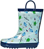 Back to School Blowout Sale! RanyZany Robot Rain Boot for Boys