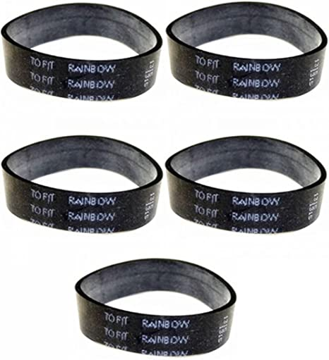 3 belts in pack Fits all Rainbow Canister Vacuum Cleaner Power Nozzles Rainbow Power Nozzle Belt