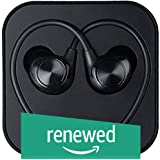 Renewed  LeEco LeTv  LeUIH101 Wired Headphone  Black, in The Ear