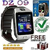 ZED BONE Bluetooth Smart Watch DZ09 with Camera/Sim Card Slot, Touch Screen, Audio MP3 Player, Calendar, Photo Gallery, Fitness Tracker, Reminder