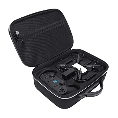 HIJIAO Hard EVA Carrying Case for DJI Tello Quadcopter Drone Remote Controller and Fly Carry Bag Protective Box: Electronics