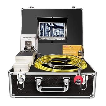 Cámara de inspección de tuberías, Drenaje Alcantarilla endoscopio Industrial anysun PIC20 Impermeable IP68 Serpiente Sistema