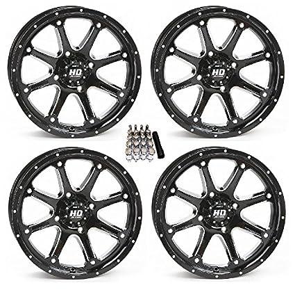 STI HD4 UTV Wheels/Rims Black 14