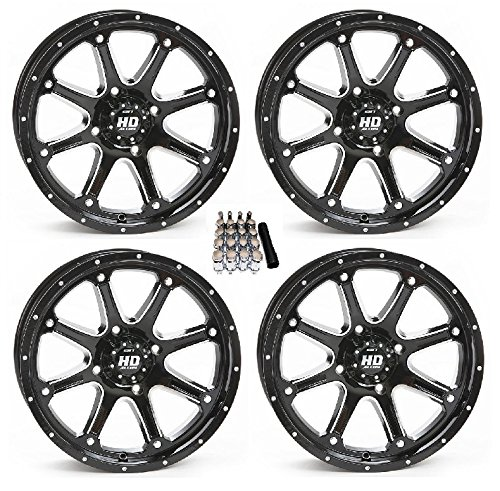 (STI HD4 UTV Wheels/Rims Black 14
