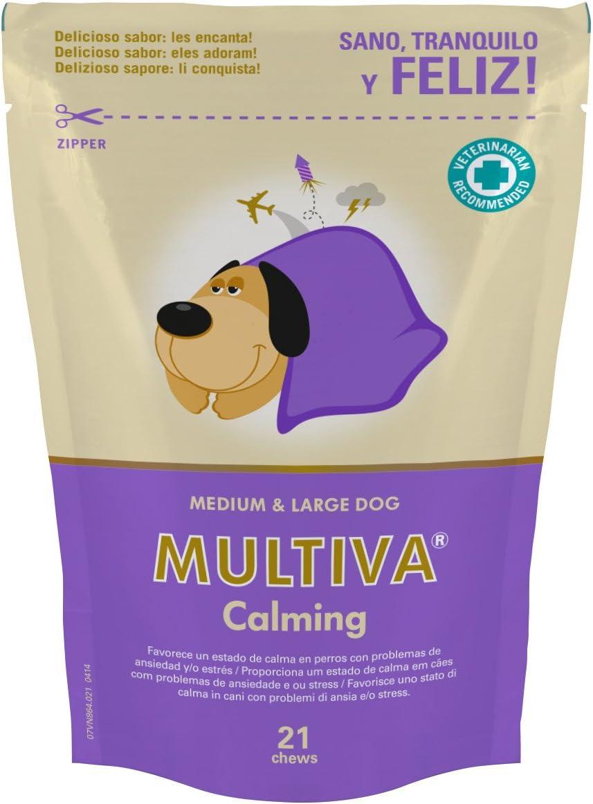 Vetnova Multiva Calmante Natural para Perros - 21 Chews
