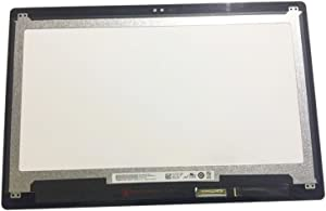 """Kreplacement 13.3"""" Touch LCD Digitizer Screen Replacement Display Glass B133HAB01.0 for Dell Touchscreen Laptop (Non-Bezel)"""