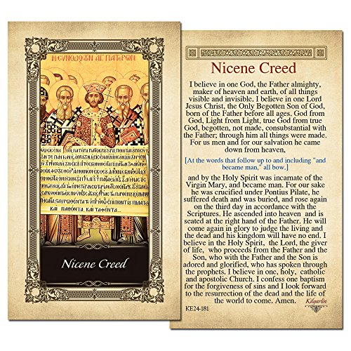 Nicene Creed Laminated Holy Card - Pack of 3