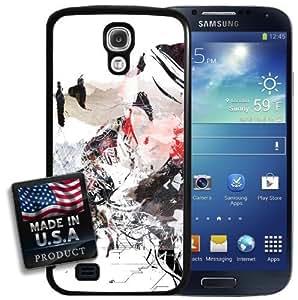 Digital Graffiti Girl Galaxy S4 Hard Case