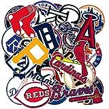 MLB チームロゴ メジャーリーグ [防水加工]ステッカー / 30枚セット