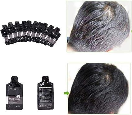 clifcragrocl tinte pelo,25 ml de larga duraci¨®n Cabello blanco ...
