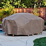 Duck Covers Elite Patio Rectangular Table & Chair Set Cover With Optional Rechargeable Inflator Review