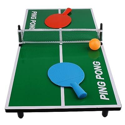 Magideal Mini Tenis De Mesa Juego Ping Pong Regalo De Navidad Para