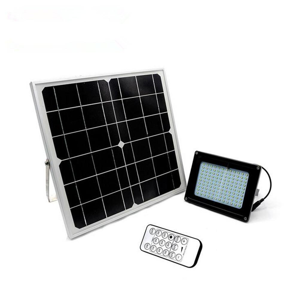 CARYY Solar Light, Outdoor Waterproof Remote Controlled Time LED Cast Light, Courtyard Road Roof Light , D
