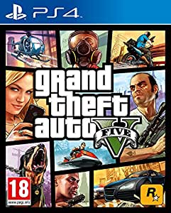 Grand Theft Auto V Gta V Ps4 Playstation 4 Amazon Es Videojuegos