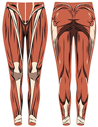Amazon Attack On Titan Muscles Leggings Clothing