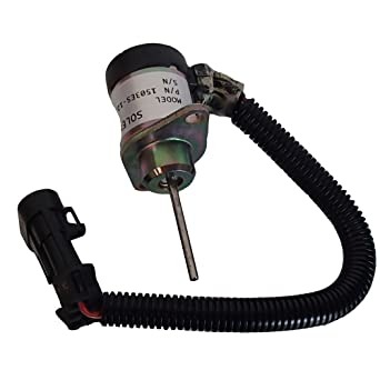 Amazon com: 6691498 Fuel Shut Off Solenoid for Bobcat S130