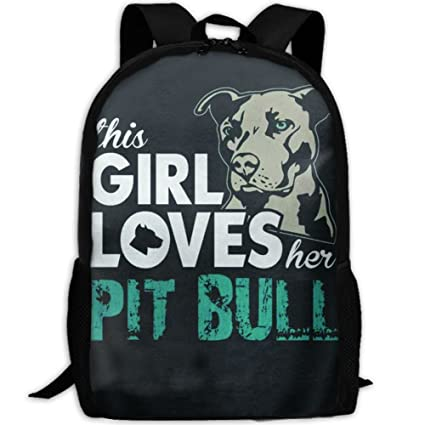 834f0ddcd55f Amazon.com: New This Girl Loves Her Pit Bull Adults Bath Towel ...