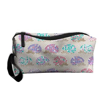 Amazon.com   Styleforyou Travel Makeup Hedgehog Polkadot Cosmetic Pouch  Makeup Travel Bag Purse Holiday Gift For Women Or Girls   Beauty 29901d94fb92e
