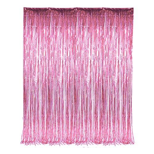 Tinsel Fringe Window Curtain Decoration