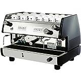 La Pavoni BAR-T 2V-B Commercial 2 Group 14L Boiler Volumetric Espresso Machine, Black Side Panels, Chrome Plated Solid…
