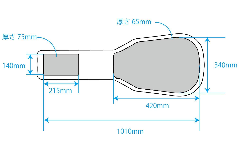 Gator GTSA GTRSG Electric Cut Away Epiphone Image 3