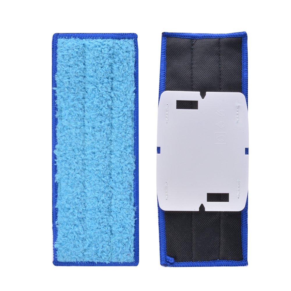 Kreema 10Pcs microfibra pano mojado almohadillas trapezoidales reutilizables reemplazables para iRobot Braava Jet 240/241 limpiador robot: Amazon.es: Hogar