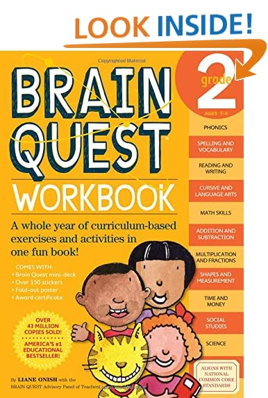 Workbook first grade worksheets pdf : Brain Quest Workbook: Grade 3: Janet A. Meyer: 0019628149169 ...