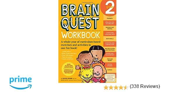 Brain Quest Workbook, Grade 2: Liane Onish, Jill Swan ...