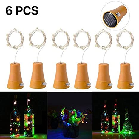 Sunny 2017 Hot Sale 20 Led Chic Cork Shaped Night Starry Light Wine Bottle Lamp For Xmas Decor Cool Furniture