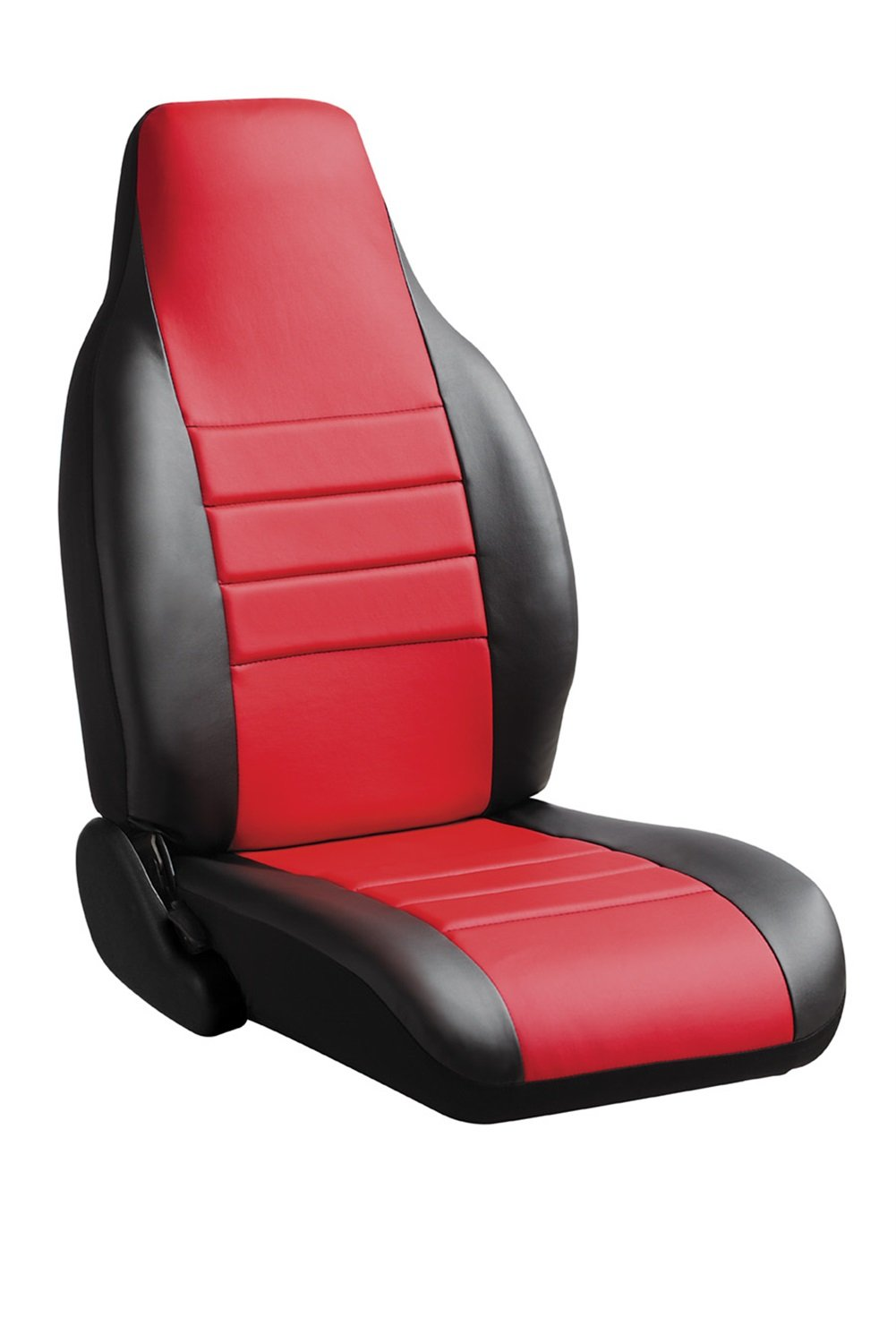 Black w//Gray Center Panel Leatherette Fia SL69-33 GRAY Custom Fit Front Seat Cover Bucket Seats