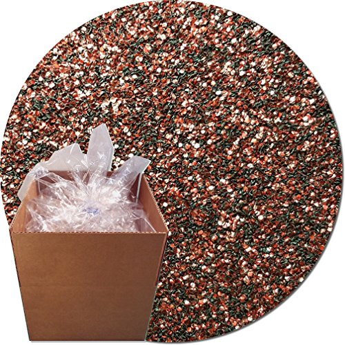 Glitter My World! Craft Glitter: 25lb Box: Root Beer Brown by Glitter My World!
