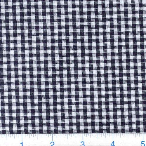 (Robert Kaufman Kaufman 1/8in Carolina Gingham Black Fabric By The Yard)