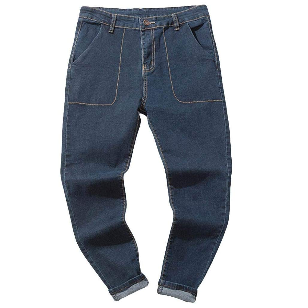 Muramba Clearance Mens Pants Plus Size Casual Denim Vintage Jeans