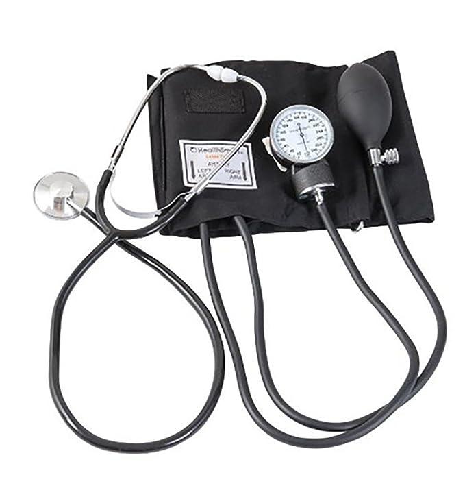 Xuan Medidor de Presión Arterial Médica Profesional de Cuidado de la Salud Estetoscopio Medidor Estetoscopio Aneroid Sphygmomano Dispositivo de Medida: ...