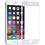 Brand AffairsTM Tempered Glass Screen Protector Guard for Apple iPhone 6 6S White