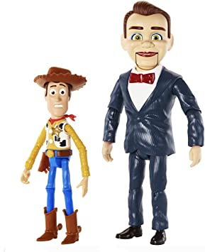 Disney Pixar Toy Story Benson and Woody Figure 2-Pack: Amazon.es ...