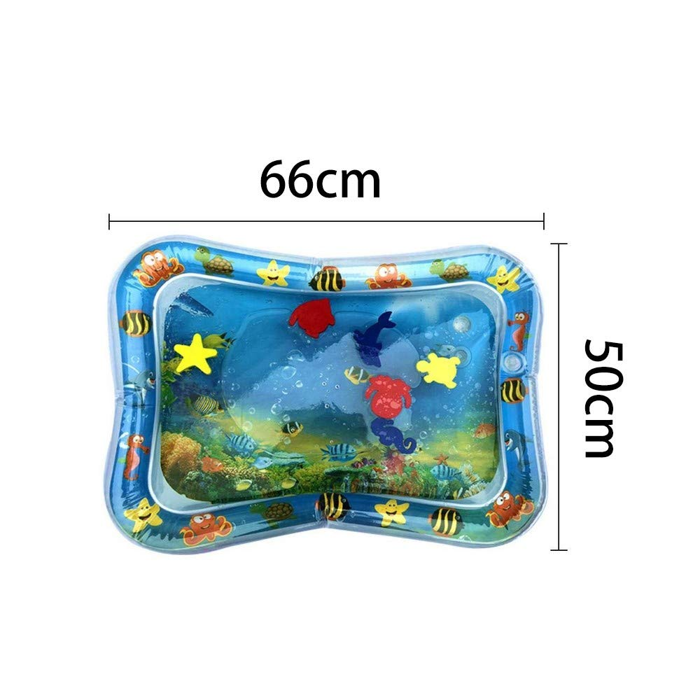 Joykith Toy Inflatable Baby Water Pad 7 Pcs Set Baby Inflatable Water Play Mat: Fun, Indoor & Outdoor Pad for Babies & Infants   Great Tummy Time Activity, Promotes Visual Stimulation by Joykith Toy (Image #9)