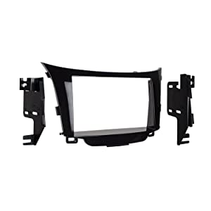 Metra 95-7357HG Double DIN Dash Kit for 2013- Hyundai Elantra GT (High Gloss Black)