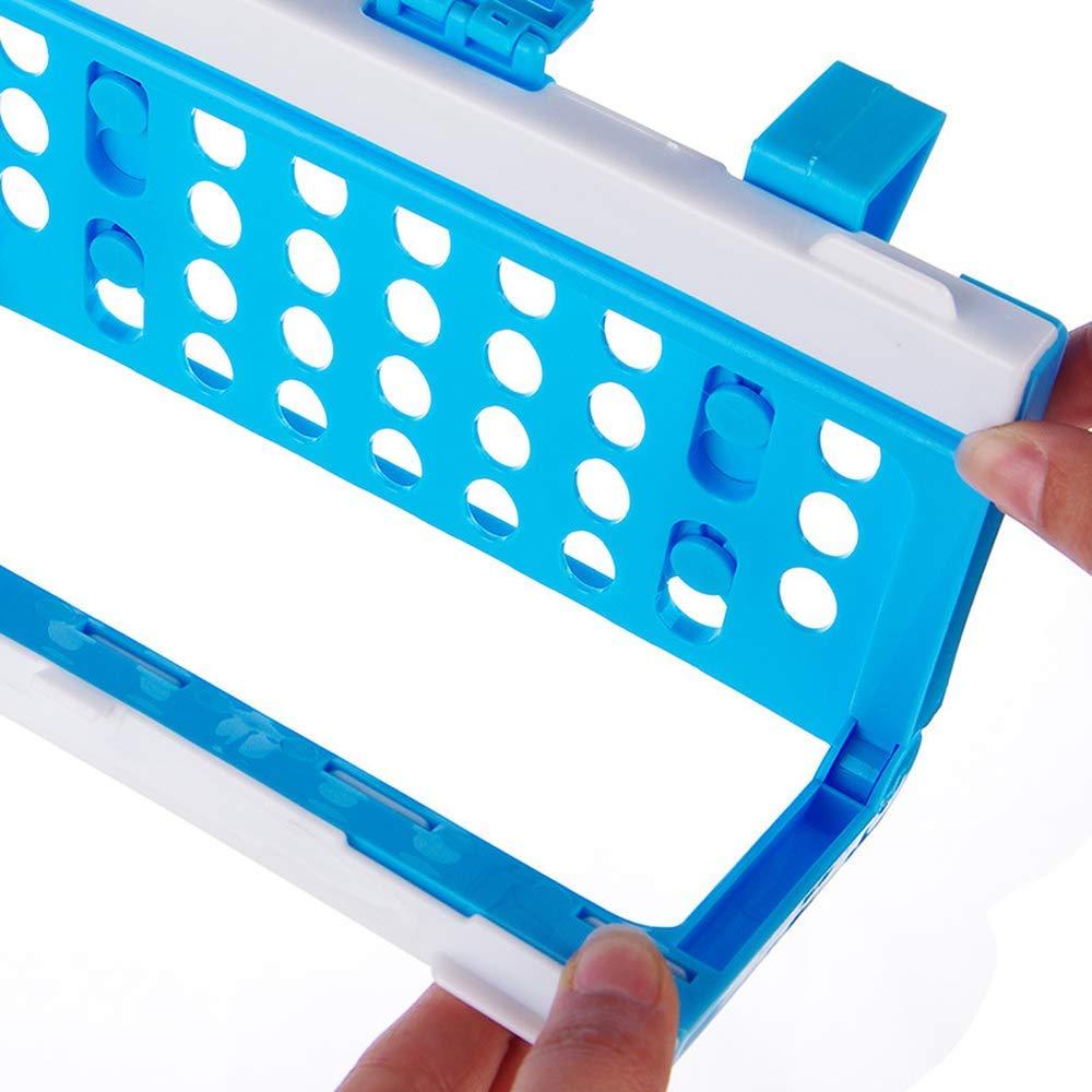 Kitchen Plastic Foldable Cabinet Door Back Garbage Bag Fixed Bracket