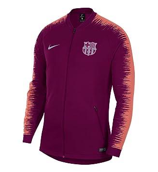 Nike FC Barcelona Anthem - Partes de Arriba de Ropa Deportiva para fútbol ( Hombres 8524d0d9b15