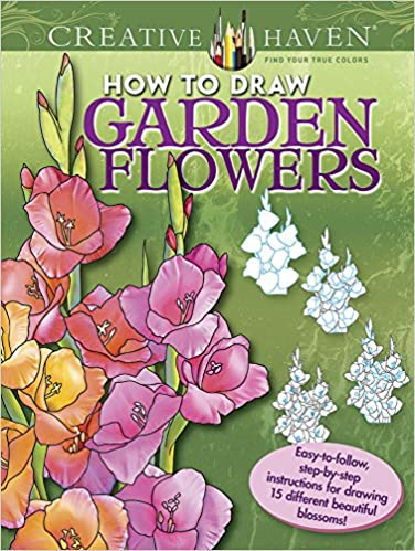 Creative Haven How To Draw Garden Flowers Easy To Follow Step By