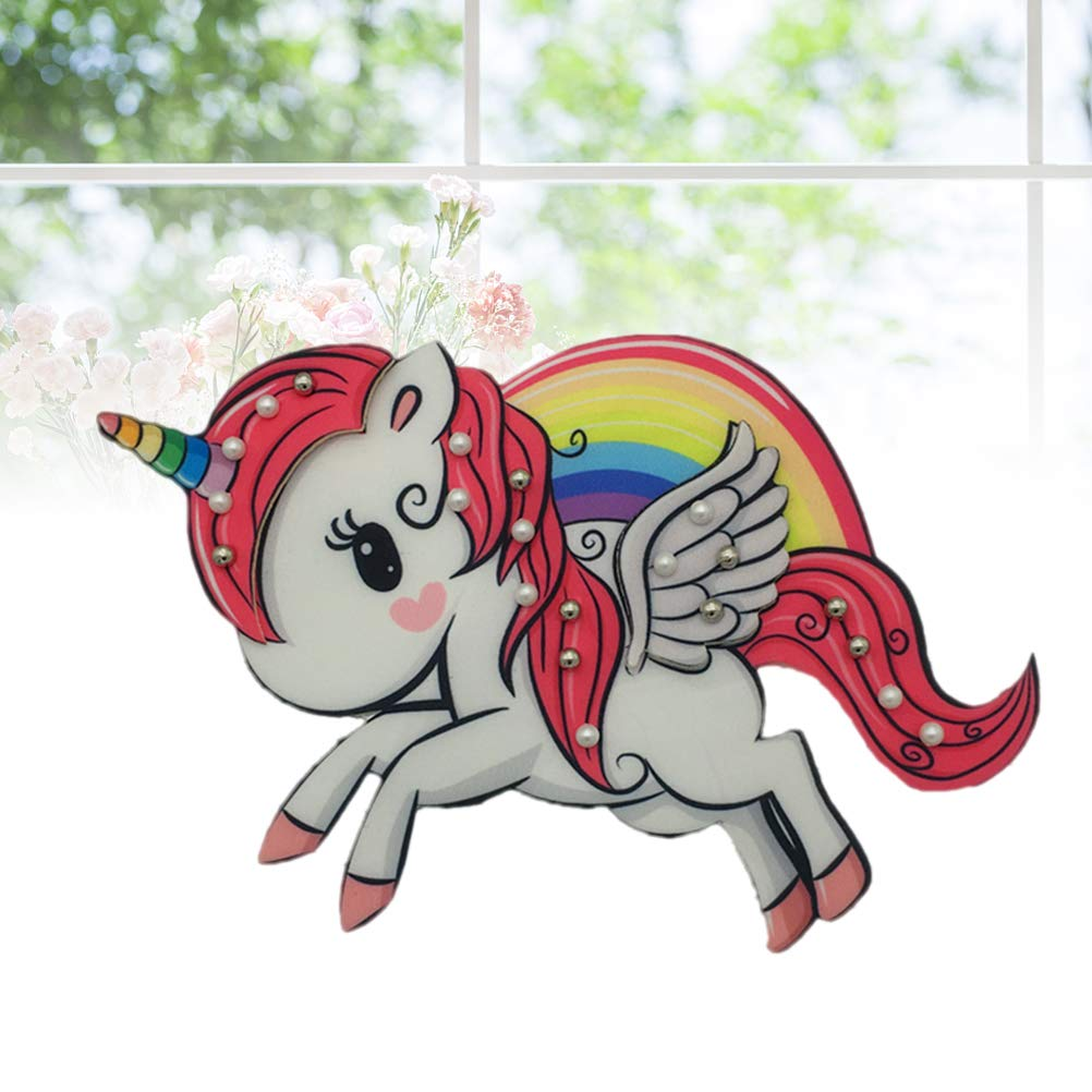 Vosarea Unicornio Rainbow coser parches ni/ños planchar parches apliques Parches bordados para ropa Chaquetas Sombreros Mochilas Jeans