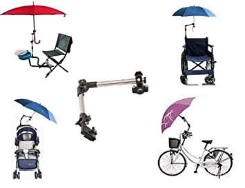 LL-Golf® Soporte para paraguas para bicicleta / silla / Andador / Carrito /
