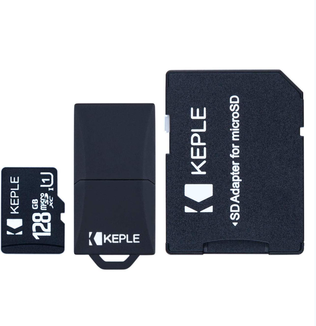 128GB microSD Memory Card Micro SD Compatible with LG V50 ThinQ, G8 ThinQ, Q60, K50, K40, Q9, V40 ThinQ, G7 Fit, G7 One, Q8, K11 Plus, Q Stylo 4, Q Stylus, V35 ThinQ, Q7, G7 ThinQ, Zone 4 | 128 GB